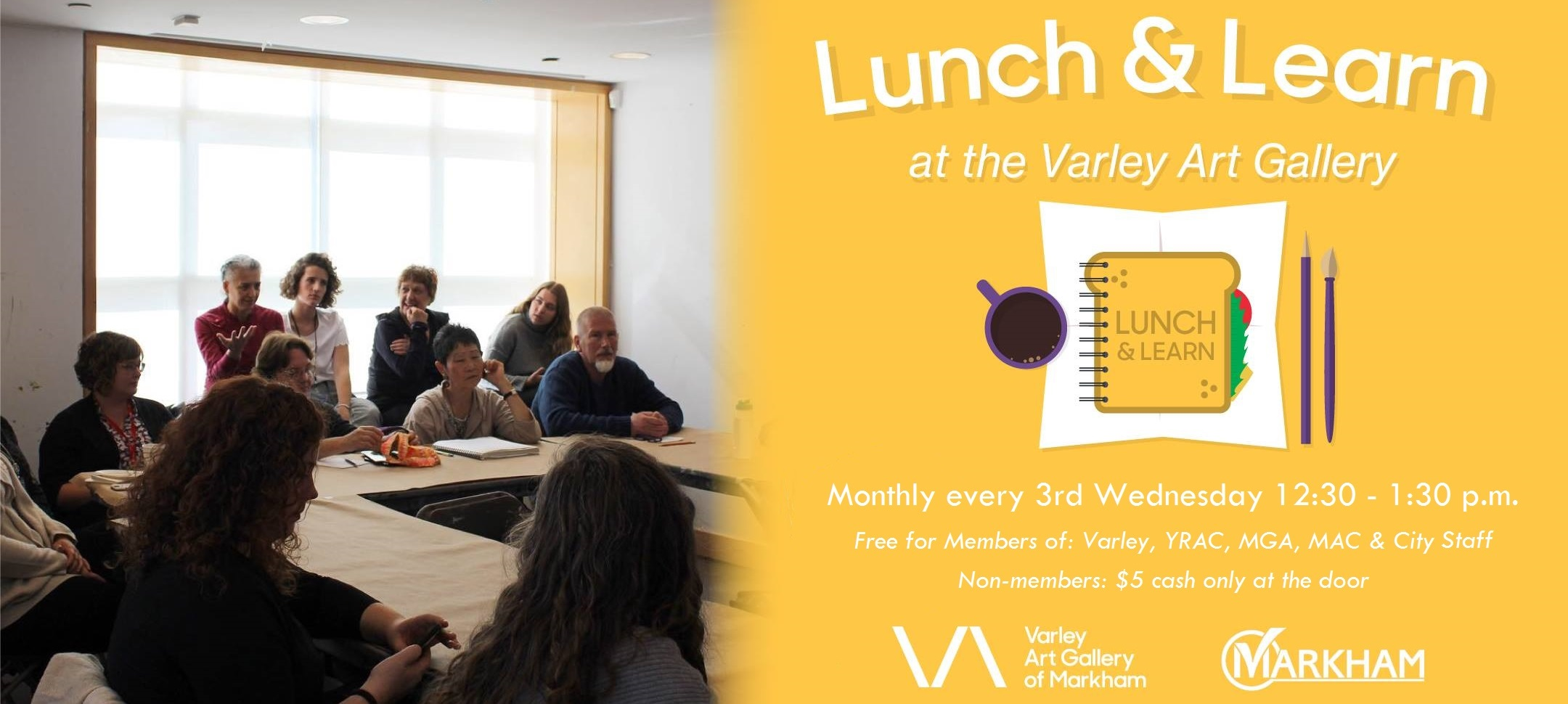 Lunch & Learn at the Varley Art Gallery