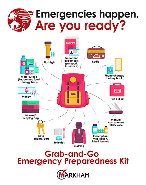 Emergency Preparedness Grab & Go Kit