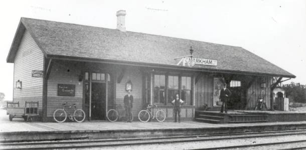 Markham Village, Toronto and Nippissing Station, c.1900