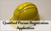 Qualified Person Registration Application