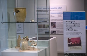 Discover some of the amazing pottery discoveries during these excavations at Markham Museum.