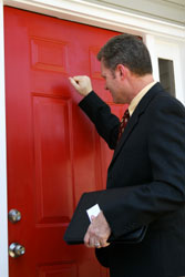 door-to-door sales