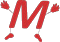 "Markham In Motion ""M"" symbol"