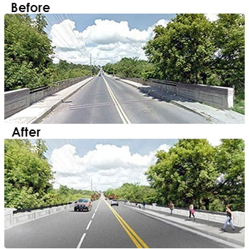 Main Street Markham Bridge Before After Pictures