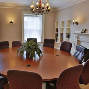 one of the meeting room at Heintzman House