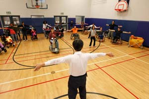 exercises taught at Markham's Accessibility Fair