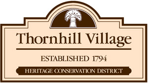 Public Signage: Thornhill Village Heritage Conservation District