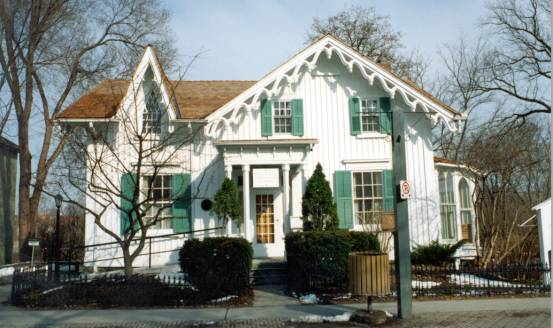 The Salem Eckardt House, built c.1850