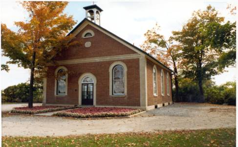 The Cedar Grove School Community Centre, built 1869