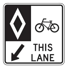 Reserved Bike Lane