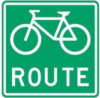 Bicycle Route Marker