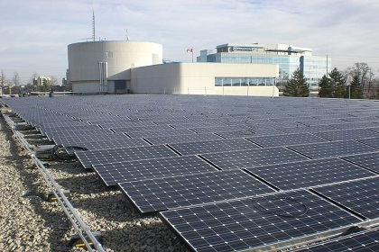 Solar Array at the civic centre