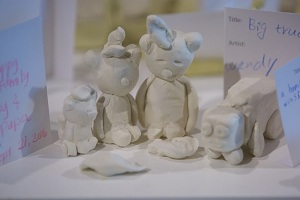 Create your own clay masterpiece in our gallery space and display it for others to enjoy.