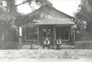 Buttonville General Store, photographed c.1900