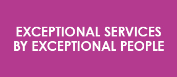 Exceptional Services by Exceptional People