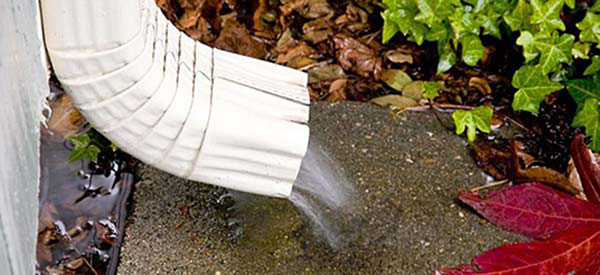 picture of a downspout