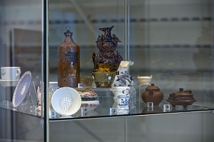 Explore various cultures' clay traditions through examining ceramics in the Museum's collection.