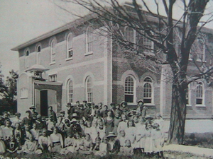 Franklin Street Public School and students