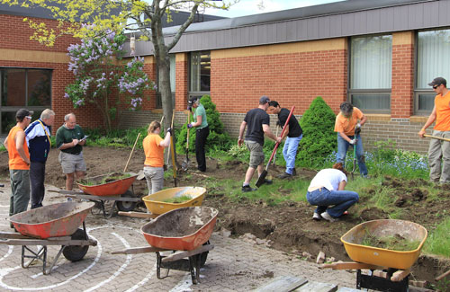 2011 MESF Project - Courtyard Renovation