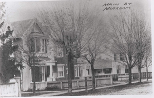 8 Old Houses on the west side of Main Street, Markham Village, M.1988