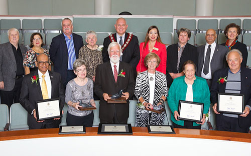2015 17th Annaul Mayor's Seniors Hall of Fame Awards